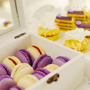 Macarons cu afine Dolce by Vero